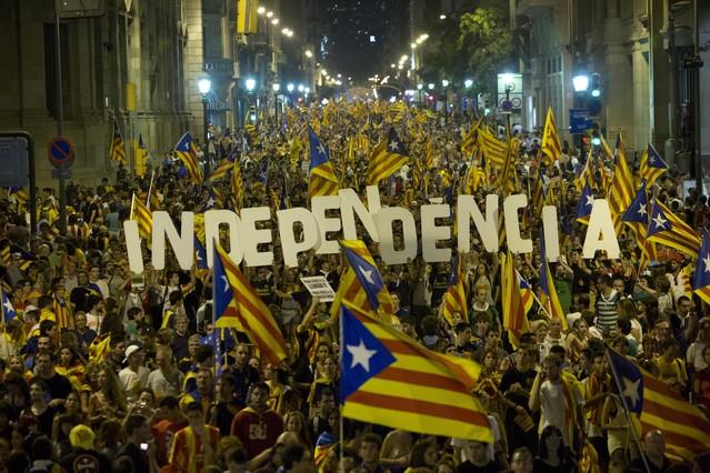 La cadena de radio BBC cuestiona la unidad de España