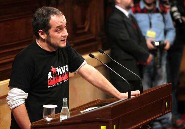 "La CUP insta al Govern a ""atreverse"" a incumplir los objetivos de déficit"
