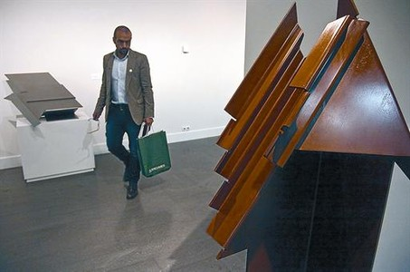 La Fundaci�n Godia exhibe las geometr�as de Palazuelo
