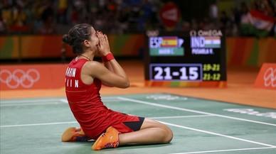 Carolina Marín conquista el sisè or de Rio 2016