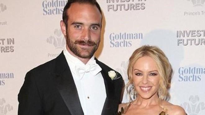Kylie Minogue es compromet amb el seu nòvio