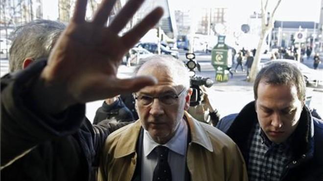 Intent d'agressió a Rodrigo Rato a l'arribar als jutjats per declarar