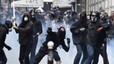 Masiva manifestación en París contra la reforma laboral de Hollande