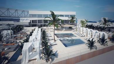 El Cafè del Mar més gran del món obrirà al Port Fòrum el 2017