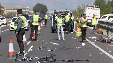 Moren atropellats dos ciclistes de l'equip de Xàvia per una conductora èbria