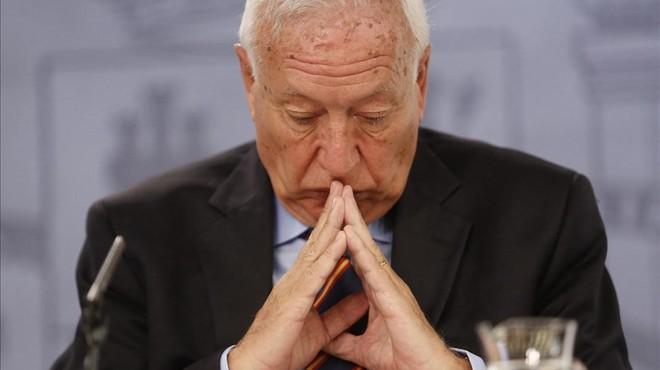Margallo compara la victòria d'En Comú Podem amb la de Hitler
