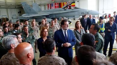 Rajoy anuncia que Espanya es proposa liderar un batalló de l'OTAN als països bàltics
