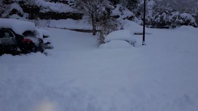 Alerta per neu i vent a Lleida i Girona