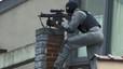 Quatre policies ferits i un presumpte terrorista mort a Brussel·les