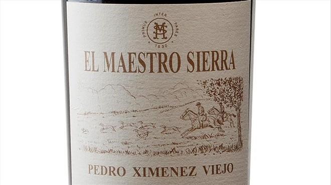 Pedro Ximénez Viejo, de Bodegas El Maestro Sierra.