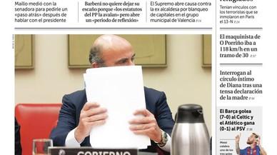 Només Marhuenda no demana el cap de Barberá; el quiosc veu Rajoy frenat per la corrupció