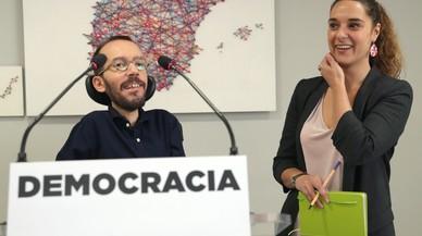 Podem insisteix que sotmetrà a referèndum la reforma constitucional que pactin PP, PSOE i C's