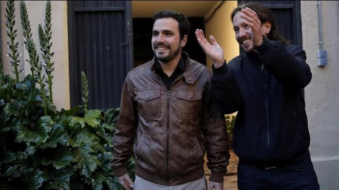 """Iglesias demana a Sánchez """"remar junts"""" perquè estan """"obligats a entendre's"""""""