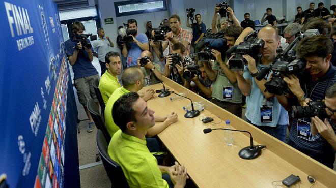 """Xavi: """"No s'hauria de sancionar sinó preguntar les causes dels xiulets"""""""