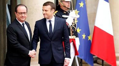 Macron arriba amb renovació i esperança