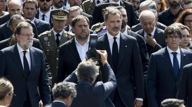 El Rei anirà a la manifestació contra el terrorisme de dissabte a Barcelona