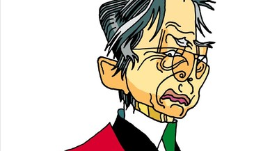 Alberto Fujimori: el 'Chino' ja pot caminar per Lima