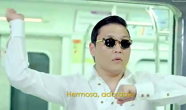 CUADERNO DE DOMINGO  El video de PSY con la canci�n 'Gangnam Style'.