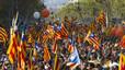 Pep Guardiola, estrella de l'acte de les entitats sobiranistes de diumenge a Montjuïc