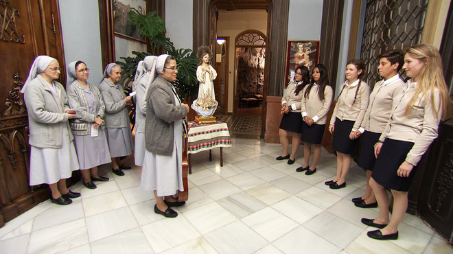 Cuatro ultima el 'docu-reality' 'Quiero ser monja'