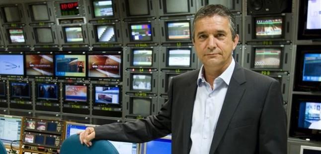 Eugeni Sallent s'acomiada com a director de TV-3