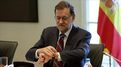 Un PP ansiós d'eleccions espera la decisió de Rajoy