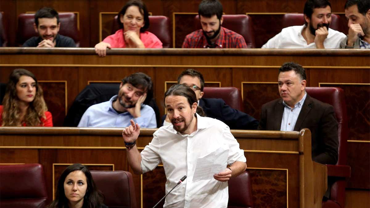 Iglesias a Rajoy: Para volver a la legalidad van a tener que pedir perdón a los españoles y devolver el dinero robado