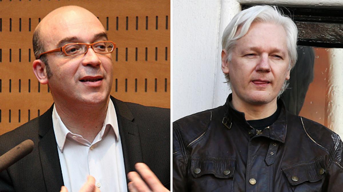 Oriol Soler se reunió con Assange en Londres