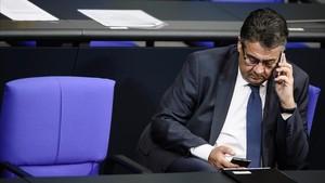 parlamento alemán twitter