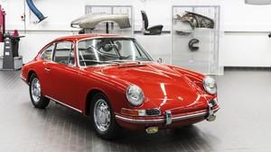 Porsche 911 restaurado