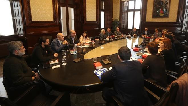 El choque entre Junts per Catalunya y ERC se traslada a la Mesa