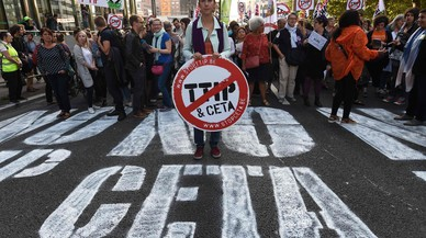 Els sindicats alerten l'Eurocambra de l'impacte negatiu del CETA