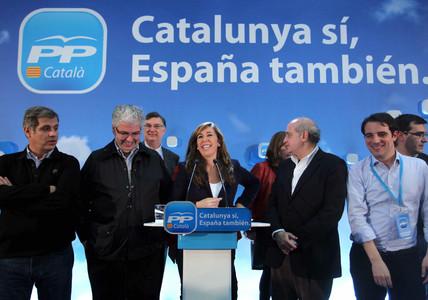 """Camacho: """"Los catalanes han desautorizado a Mas y su proyecto de separaci�n de Espa�a"""""""