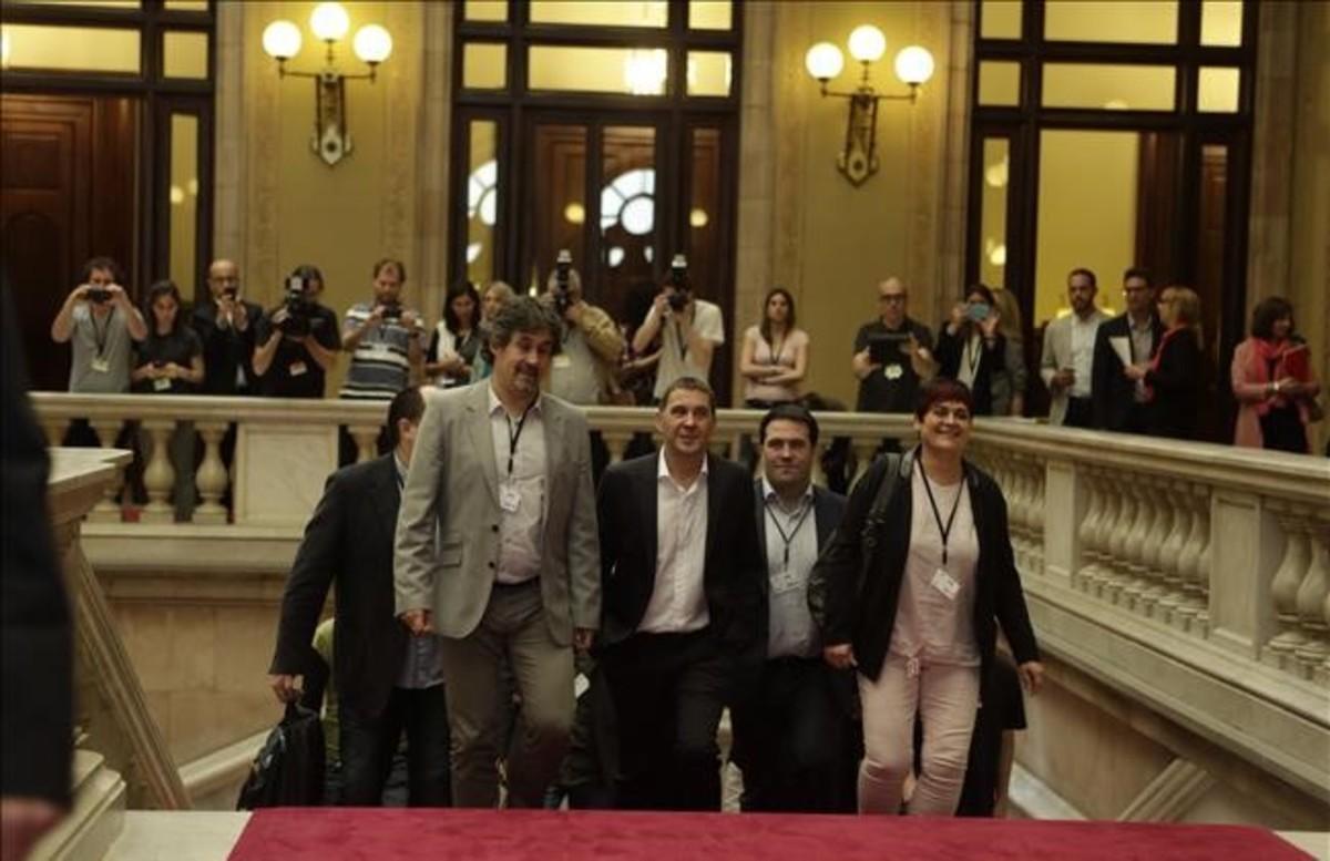 Resultado de imagen de otegi parlament