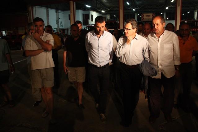 """Artur Mas: """"Hi ha hagut imprud�ncies manifestes en l'incendi de l'Alt Empord�"""