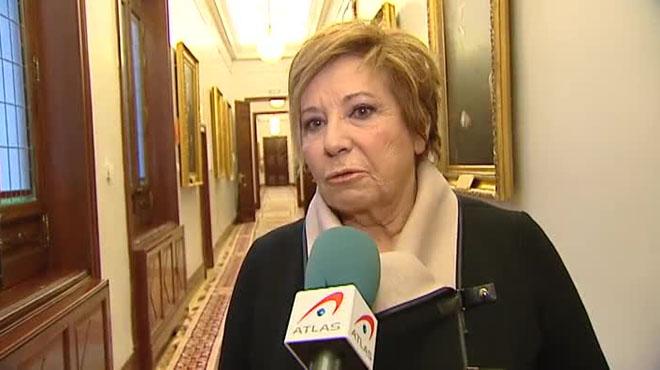 Celia Villalobos ha querido matizar sus comentarios sobre las rastas del diputado Alberto Rodr�guez