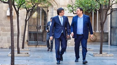 ¿Què està fent Carles Puigdemont durant la conferència de presidents?