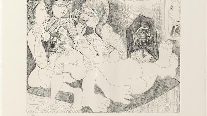 El Picasso octogenari que va celebrar l'erotisme