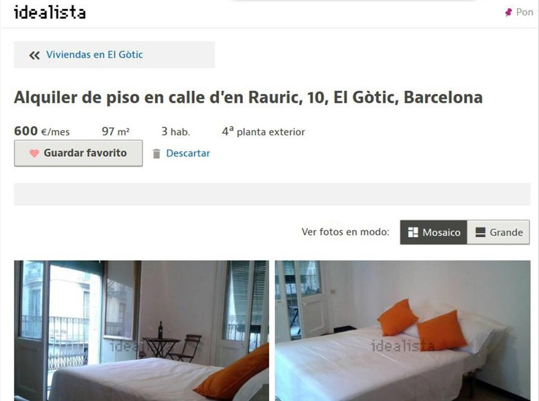 97 m2 3 hab 600 mes la barcelona que no existe for Piso 600 euros barcelona