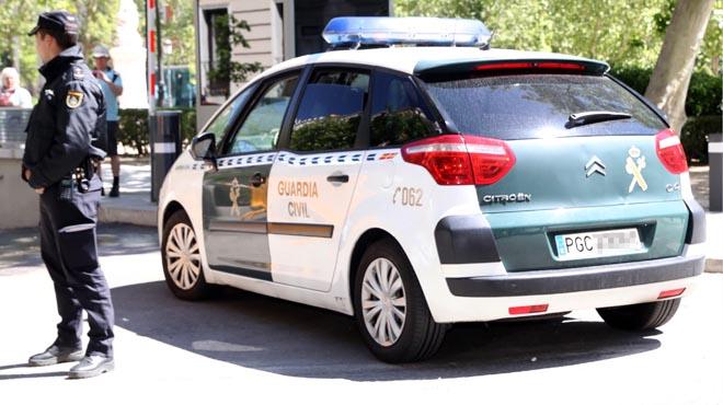González ha sortit de la Comandància de la Guàrdia Civil de Tres Cantos.