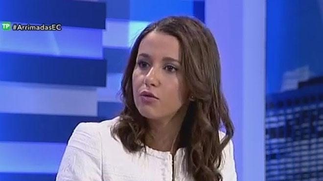 """Inés Arrimadas: """"Porto escorta perquè ja sabem el que passa a Catalunya"""""""
