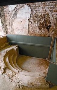 El G�tic abre al p�blico las nuevas ruinas romanas bajo el Pati Llimona