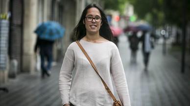 La coordinadora Elisabet Cano, el jueves en Barcelona.