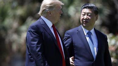 Xi Jingping pide a Trump una solución pacífica para Corea del Norte y Siria