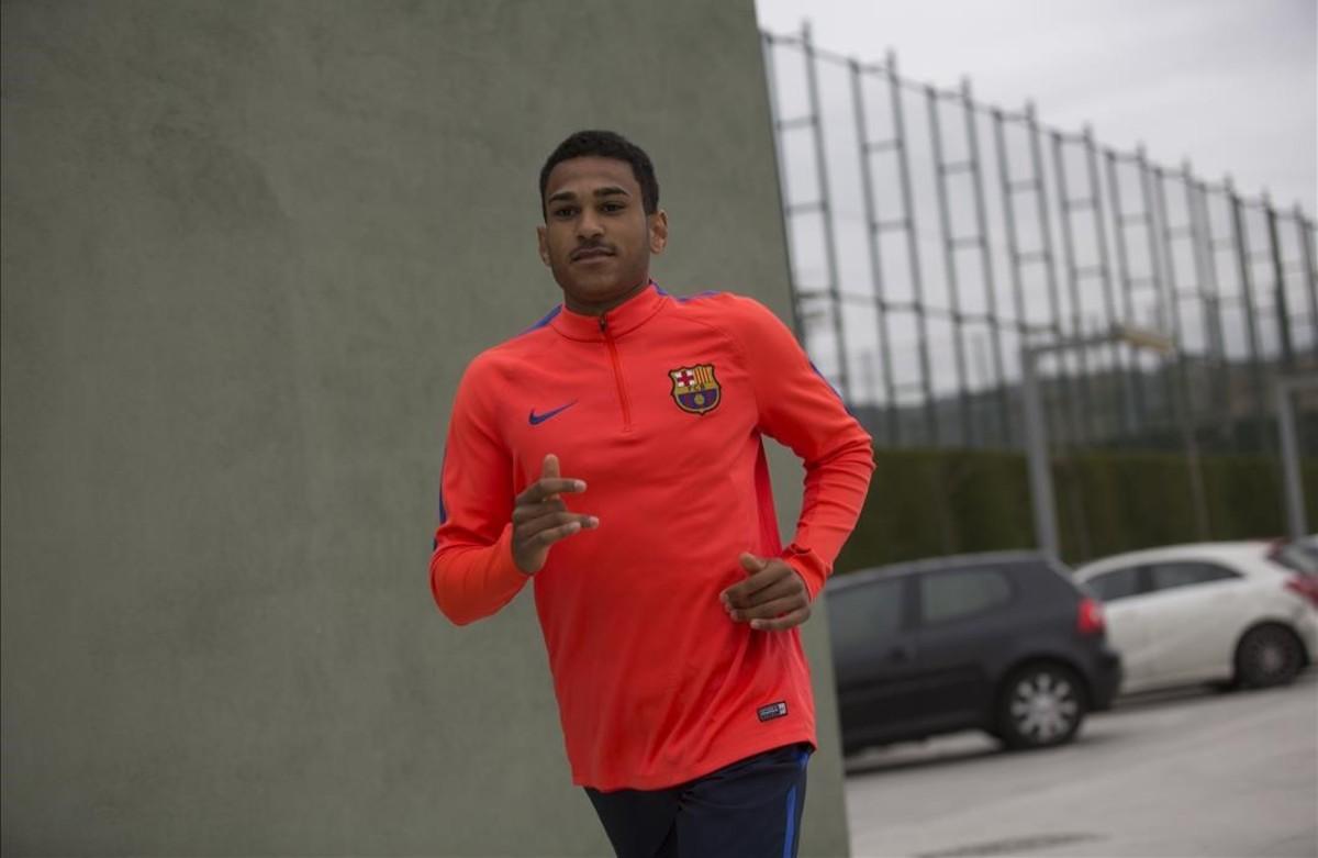 """Mboula: """"Mi gol ya es historia, ahora quiero mirar hacia adelante"""""""