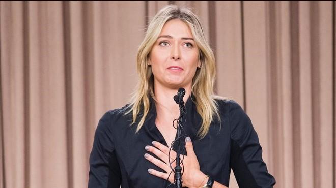 Maria Xaràpova, suspesa dos anys per dopatge