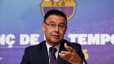 """Bartomeu: """"La unió de Messi i el Barça seguirà fins al final de la seva carrera"""""""