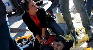 Al menos 20 muertos en una marcha por la paz en Ankara