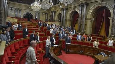 El Parlament rinde homenaje a Miguel Ángel Blanco con un hemiciclo semivacío