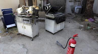 L'incendi mortal a la maternitat d'un hospital de Bagdad va ser provocat